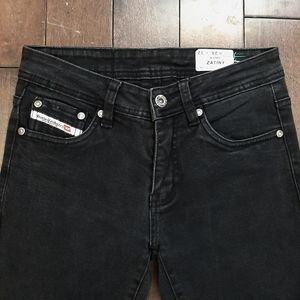 Diesel Jeans - Diesel Zatiny Wash 2320 Black Denim Jeans 28/32
